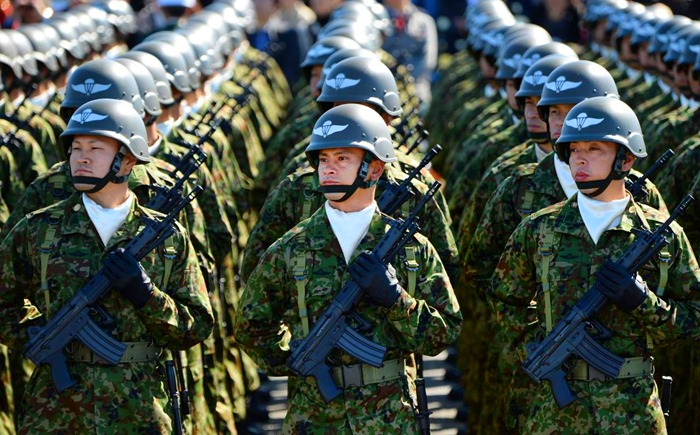 Japán önvédelmi erők
