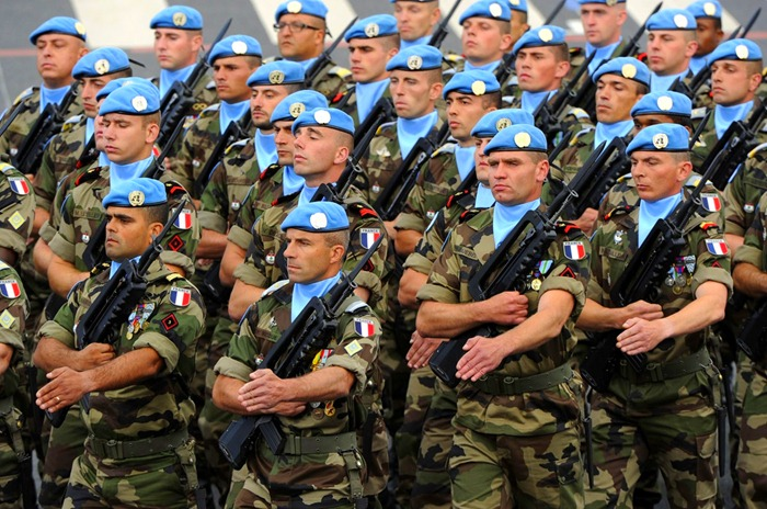 Francia fegyveres erők