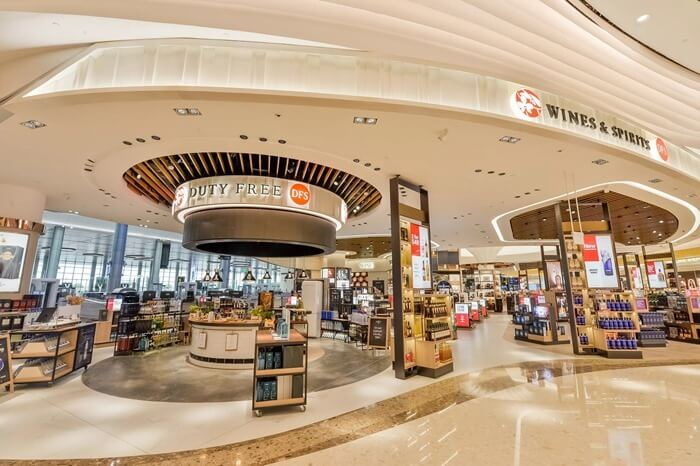 Changi Airport, Duty free DFS