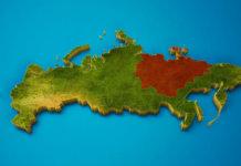 Oroszország területe