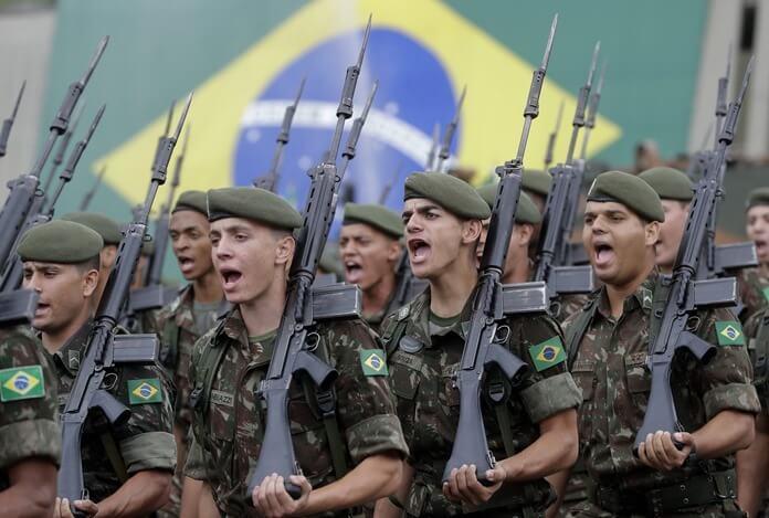 Brazil fegyveres erők