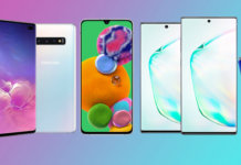 Samsung Phones 2020