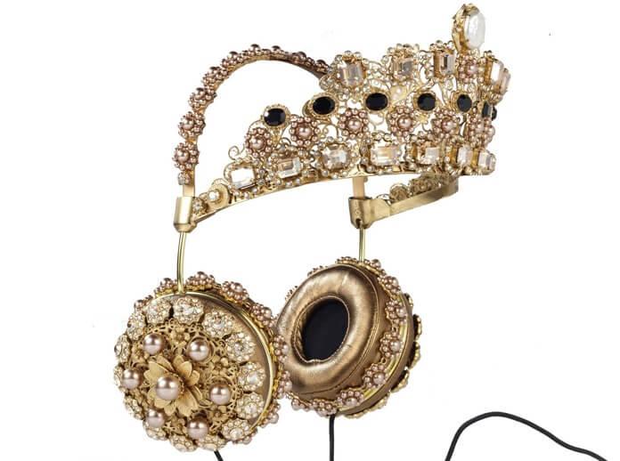 Dolce & Gabbana fejhallgató