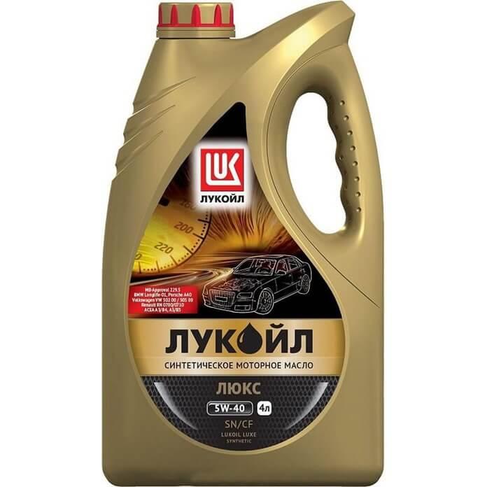 LUKOIL Lux szintetikus SN / CF 5W-40
